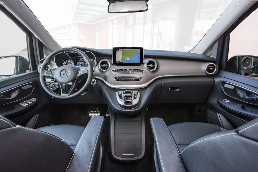 Minibus Prestige de 8 places (Mercedes Classe V250)